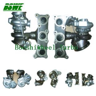 turbocharger twin for BMW 335 engine