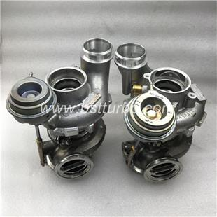 MGT2260DL 790484-0010 7589086AI05 Twin turbo left side for BWM  X6M