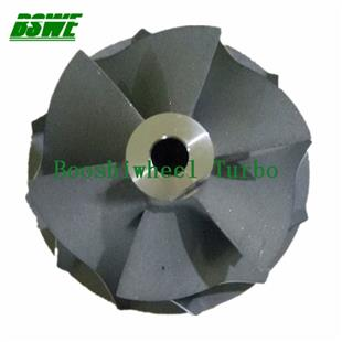 turbo compressor wheel front wheel turbocharger cast processing