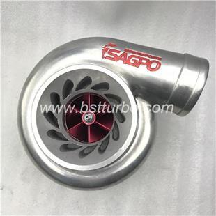 GT modified Ball bearing turbo with   gt35  turbine housing stainless steel type