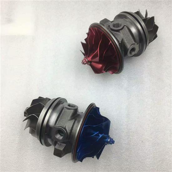 GT3582R Turbo cartridge for the Modefied car blue and red in stock