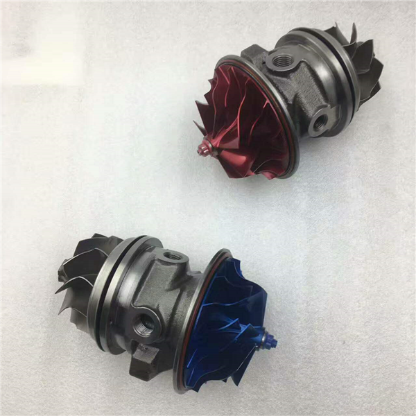 T3582R Turbo cartridge for the Modefied car blue and red