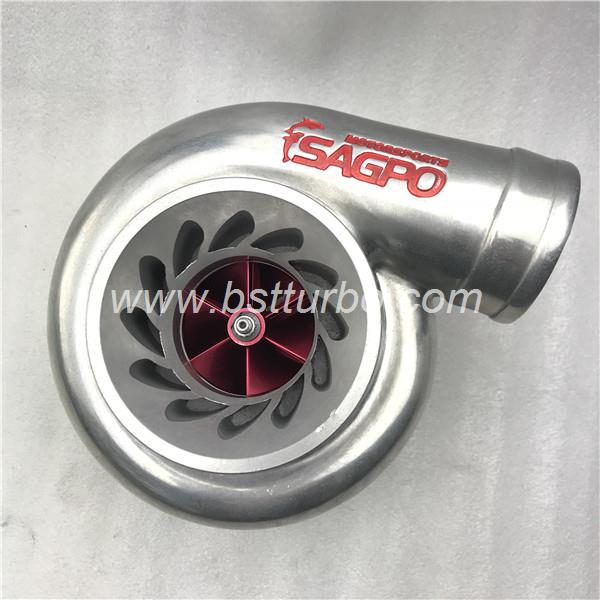GT modified Ball bearing turbo with   gt35 turbo turbine housing stainless steel type